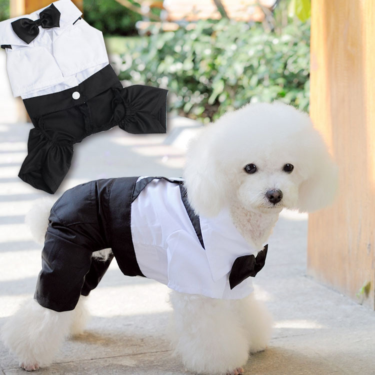 Small Dog Wedding Dress Clothes