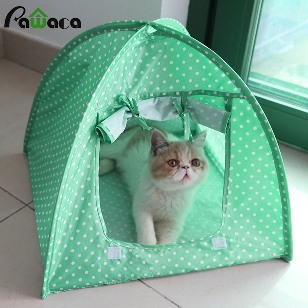 Foldable Pet Tent Playpen Outdoor Indoor