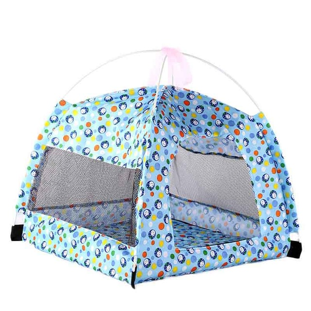 Fold able Pet Tent ...  sc 1 st  Dog Leashes & Fold able Pet Tent Outdoor / Indoor Dog - Cat - Mesh with Mosquito ...